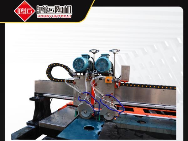 鸿运机械教你岩板切割机加工岩板的常识
