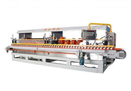 十四头全自动数控岩板专用磨边机