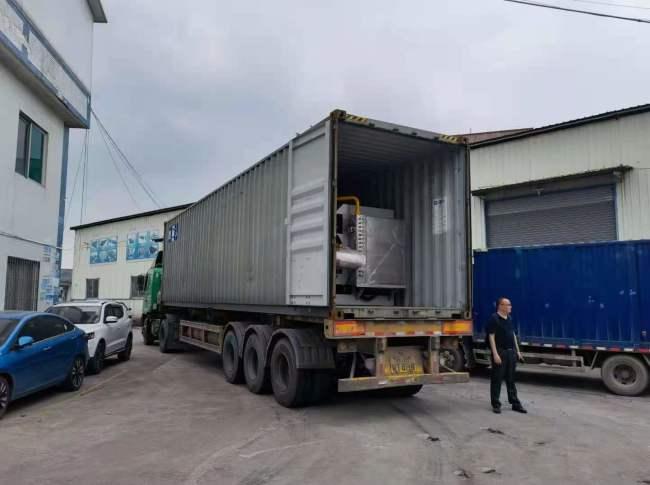 出瓷磚加工設備之全自動十四頭圓弧拋光機一臺至 保加利亞
